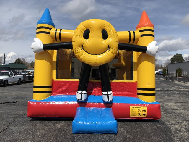 15x15 Happy Face Bounce House
