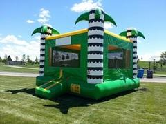 15x15 Luau Bounce House