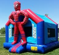 15x15 Spiderman Bounce HouseSize 15 L x 15 W x 16 H