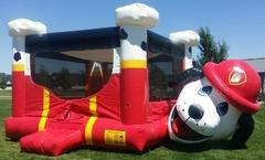 15x15 Fire Dog Bounce HouseSize 20 L x 15 W x 15 H