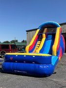 <b><font color=red><b>16 Foot Waterslide</font><br><font color=blue>Size 30 L x 13 W x 16 H</font></b>