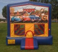 Cars Bounce HouseSize 13 L x 13 W x 14 H