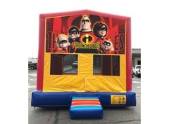 Incredibles Bounce HouseSize 13 L x 13 W x 14 H