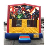 Justice League Bounce HouseSize 13 L x 13 W x 14 H
