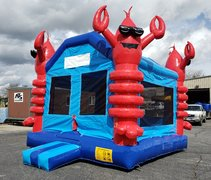 Lobster Bounce HouseSize 13 L x 13 W x 16 H