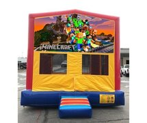 Minecraft Bounce HouseSize 13 L x 13 W x 14 H