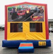 Blaze Monster Truck Bounce House