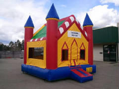 Castle Bounce HouseSize 13 L x 13 W x 15 H