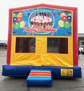 Happy Birthday 2 Bounce HouseSize 13 L x 13 W x 14 H