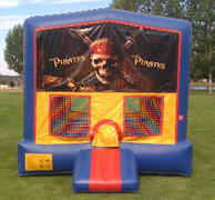 Pirate Bounce HouseSize 13 L x 13 W x 14 H