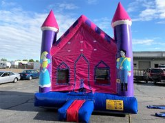 Princess Castle Bounce HouseSize 13 L x 13 W x 15 H