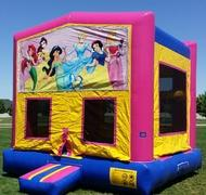 Princess Theme Bounce HouseSize 13 L x 13 W x 14 H