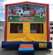 Sports Bounce HouseSize 13 L x 13 W x 14 H