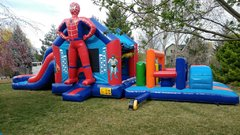 Super Hero Obstacle CourseSize 45 L x 13 W x 16 H