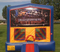 Transformers 2 Bounce HouseSize 13 L x 13 W x 14 H