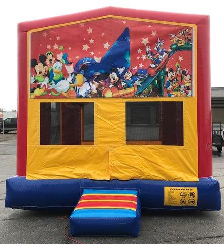 Mickey and Friends Bounce House