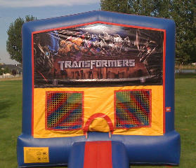 Transformers 2 Bounce House