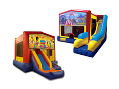 Combo Jumpers with Slides