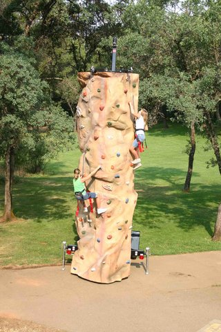 2 Person Rock Climb Wall