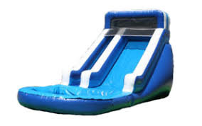 16ft Blue Crush Waterslide w/Pool