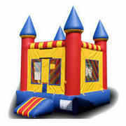 11x11 Castle Jump, 4 6ft Tables, 30 White Chairs