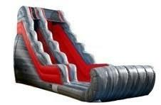 34 Ft Long Lava Dry Slide