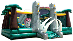 Jurassic Adventure Obstacle Fun