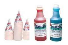 Snow Cone Supplies