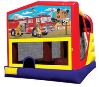 Large 4 in 1 Fire Truck