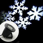 Snow Flake Monogram projector