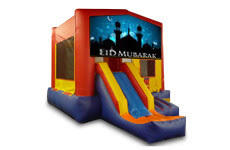 Eid Mubarak with Slide