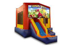 Angry Birds with Slide