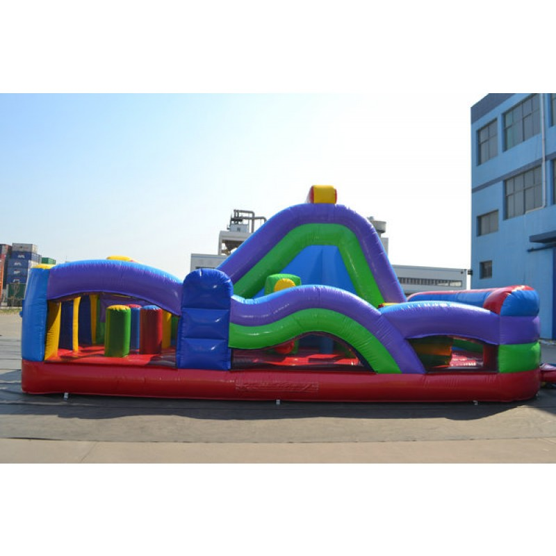 15 Ft Double Lane Obstacle Course Rental