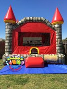 15 x 15 Large Stonegate MoonwalkRecommended for ages 9 and under Space Needed: 18'L x 18'W x 18'H