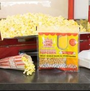 Purchase Popcorn servings and 25 popcorn bags
