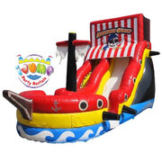 18 Ft. Pirate Water Slide with splash landing