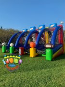 4 in 1 Sports Inflatable Game