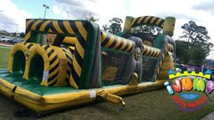 47 Ft. Toxic Blast Obstacle Course (Dry)