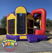 Ultimate Combo bounce house with slideRecommended for ages 6+ Space Needed: 21L x 18W x 17 H