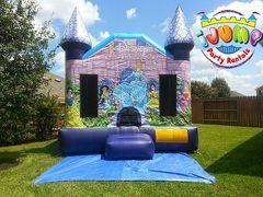Disney Princess MoonwalkRecommended for ages 9 and under Space Needed: 16'L x 17W x 17'H