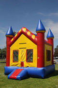 13 x 13 Majestic MoonwalkRecommended for ages 9 and under Space Needed: 18'L x 18'W x 18'H