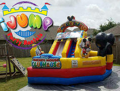 Mickey Playland Water ParkRecommended for ages 5 and under Space Needed 17'L x 15'W x 17'H