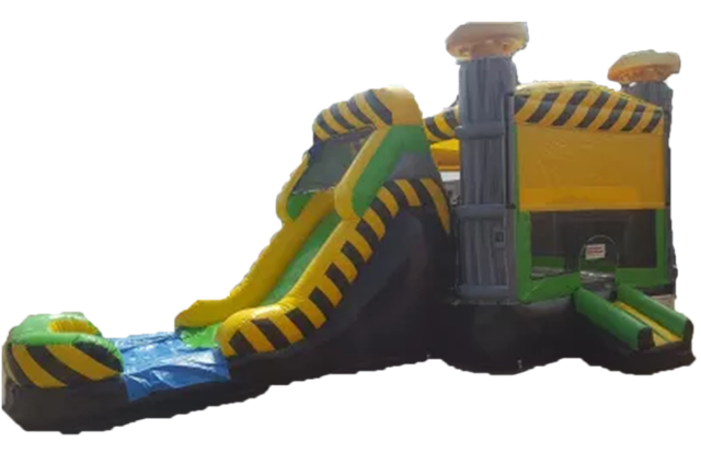 Caustic Drop Water Slide Combo