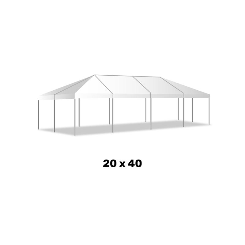 20 X 40 Frame Tent from Illiana Party Rentals