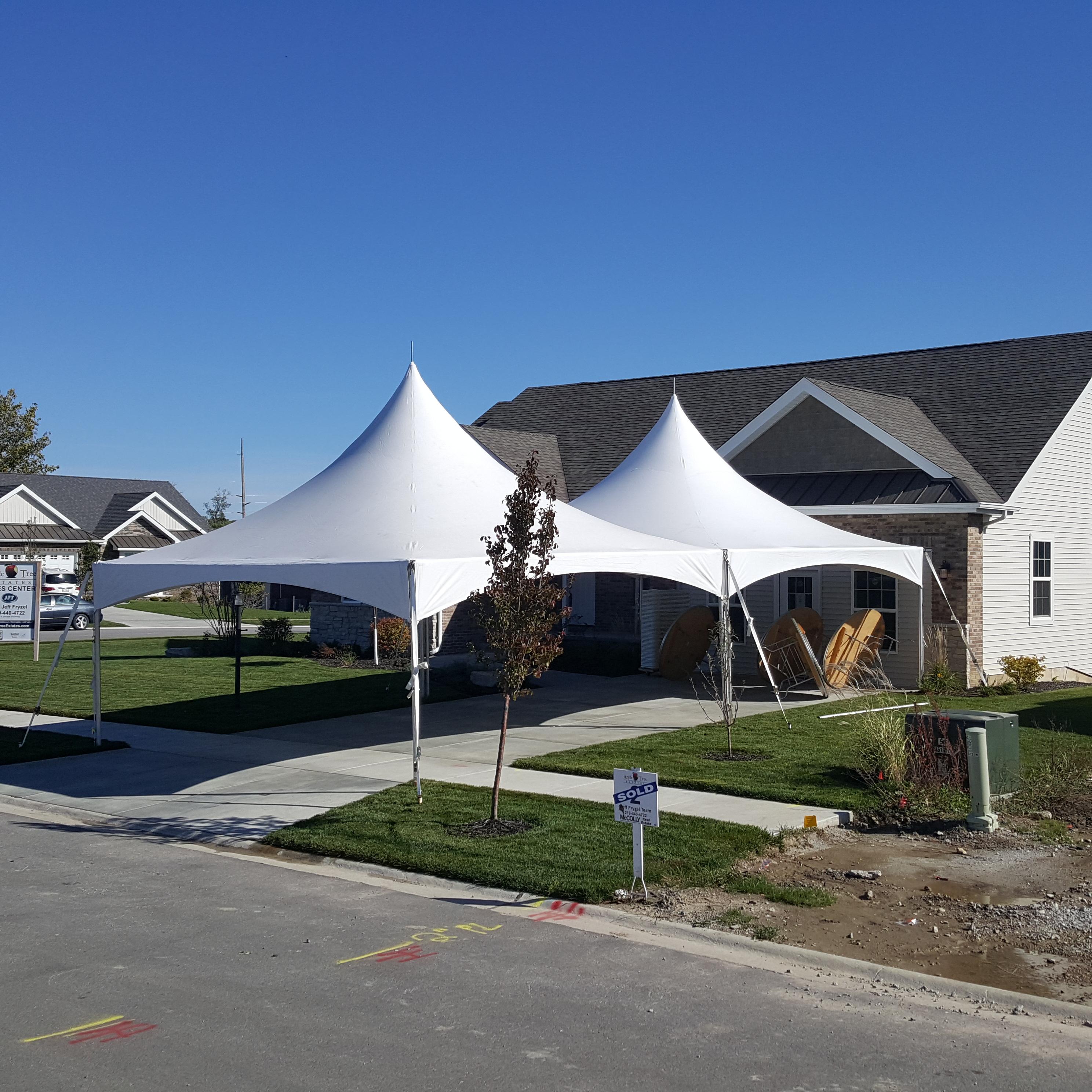 Hi-Peak Tents from Illiana Party Rentals