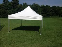 10ft X 10ft White Commercial Grade pop-up tent