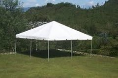 20ft X 20ft White Frame Tent