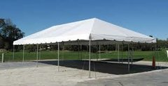 20ft X 40ft White Frame Tent