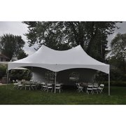 20ft X 30ft tent, 8 - 5ft round tables, 64 chairs