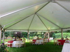 30ft X 60ft White Traditional Frame Tent
